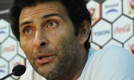 Leo Astrada este viernes en Argentino