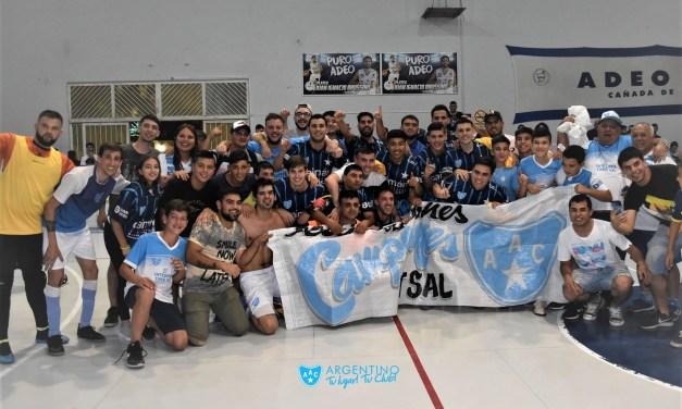 La Celeste Campeón en Futsal