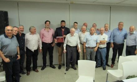 Asamblea de la Mutual de Sportivo y reconocimiento a un Directivo Fundador