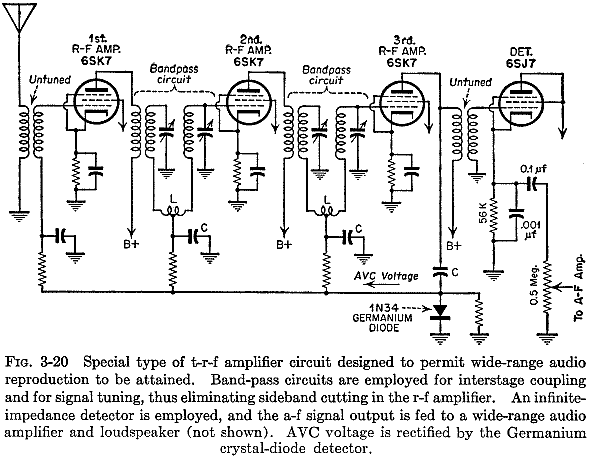 tunable crystal radio circuit schematic