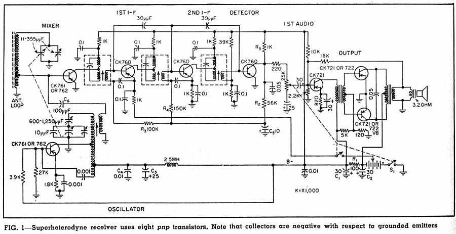 audio transistor circuit