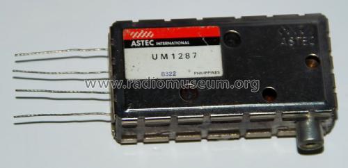 UHF Modulator UM 1287 mod-past25 Astec International
