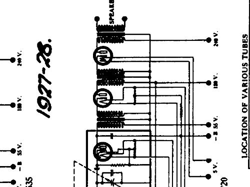 radio schematics for 1925