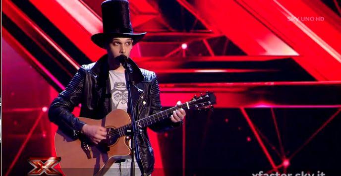 Video X Factor: Niccolò Francisci canta Tutti Blu