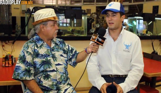 Ariel Valenzuela Karam y Colibrí Maldonado, durante la entrevista para Radioplay.com.mx