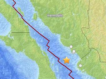 Se registra sismo en sur de Sonora; UEPC revisa afectaciones