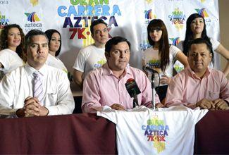 "Se realizará este domingo la ""Carrera TV Azteca"""