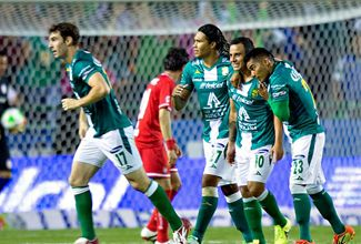 El campeón todavía ruge; vence León a Toluca 1-0