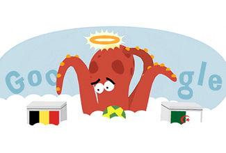"""Google """"revive"""" al pulpo Paul en su doodle"""