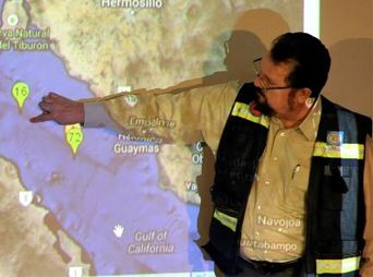 Registra Sonora cinco sismos en las últimas horas