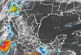 "Podría ""Hernán"" convertirse en huracán categoría 1"