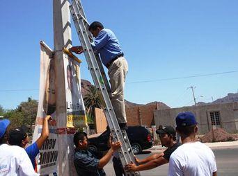 ¡No habrá pendones en Hermosillo! El cabildo de la ciudad aprobó  la modificación al reglamento de publicidad exterior.