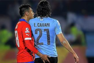 La Copa América dio de que hablar después del encuentro de Chile contra Uruguay, por la provocación de Jara a Cavani.