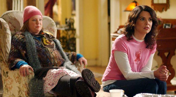 Melissa McCarthy en Gilmore Girls de Netflix