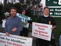 Denis Paul, Reverend Kathy McAdams and Susan Witka.  Source: Sarah Olson