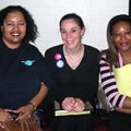 Michelle Colón with Felicia Brown and Tyffine Jones