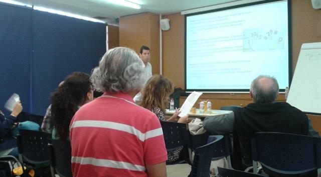 Primer evento de Limud Barcelona: yoga, debate y exposición