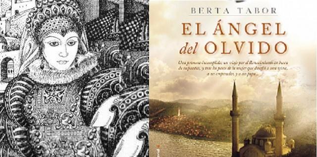 """""""El ángel del olvido"""", con su autora Berta Tabor"""