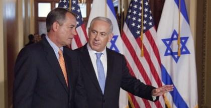FOTO-Boehner y Netanyahu