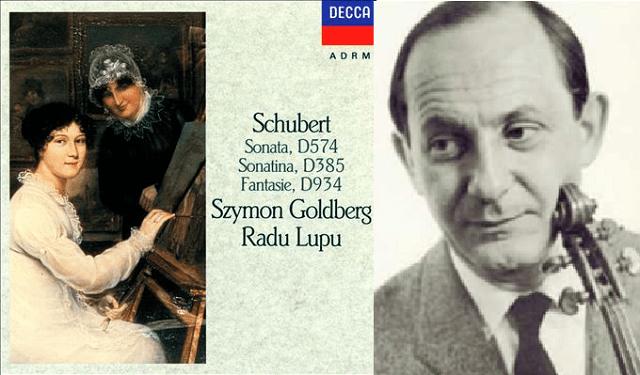 Szymon Goldberg toca a Schubert junto a Radu Lupu