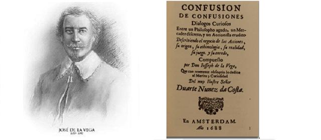 """Joseph de la Vega's """"Confusion of Confusions"""", with Sue Burke"""
