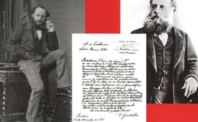 """""""Los judíos ante los cambios políticos en España en 1868"""", de Mónica Manrique con su editor Jacobo Israel Garzón"""