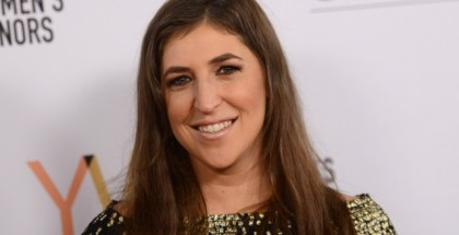 Mayim Bialik attends the 1st annual Marie Claire Young Women's Honors at the Marriott Marquis hotel in Marina Del Rey, on November 19, 2016. / AFP / CHRIS DELMAS        (Photo credit should read CHRIS DELMAS/AFP/Getty Images)