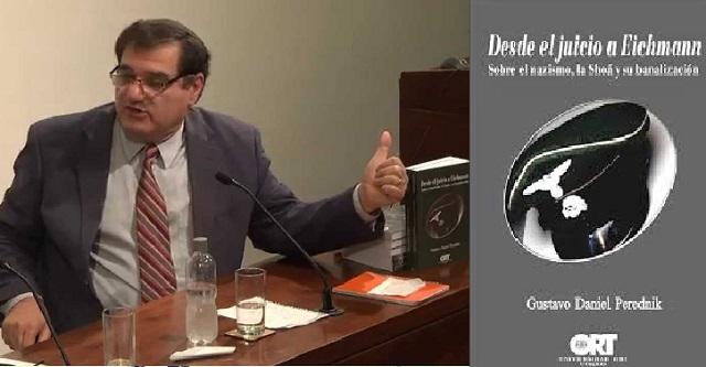 """""""Desde el juicio a Eichmann"""", presentación del libro por su autor Gustavo Perednik (Universidad ORT, Montevideo, 23/7/2014)"""