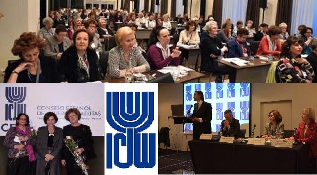 Sesión inaugural de la Conferencia Europea de la ICJW (Meliá Galgos, Madrid, 14/11/2016)
