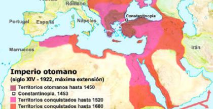 imperio otomano mapa