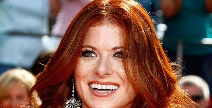 LOS ANGELES, CA - SEPTEMBER 21:  Actress Debra Messing arrives at the 60th Primetime Emmy Awards held at Nokia Theatre on September 21, 2008 in Los Angeles, California.  (Photo by Frazer Harrison/Getty Images)