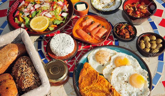 Comida en Israel: variada y sana, como su gente