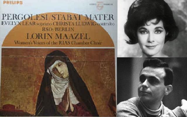 """""""Stabat Mater"""" de Pergolesi, con Evelyn Lear y dirigida por Lorin Maazel"""