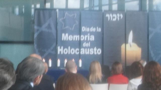 Acto de Recuerdo del Holocausto (Asamblea de Madrid, 26/1/2018)