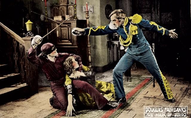 """""""La marca del Zorro"""", de Fred Niblo (1920)"""
