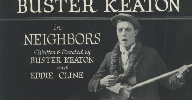 """""""Vecinos"""", de Buster Keaton (1920)"""