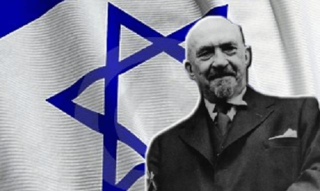 Chaim Weizmann, primer presidente de Israel