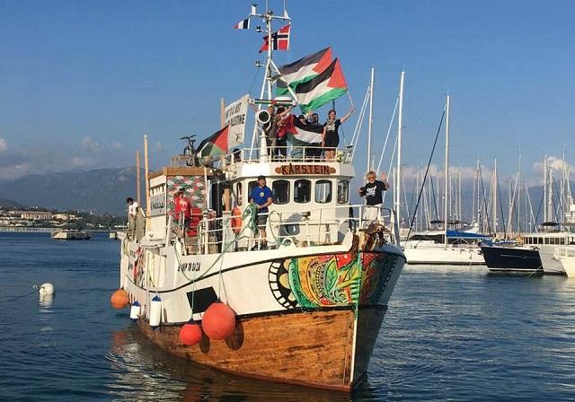 La 'Flotilla de la Libertad' y Ahed Tamimi