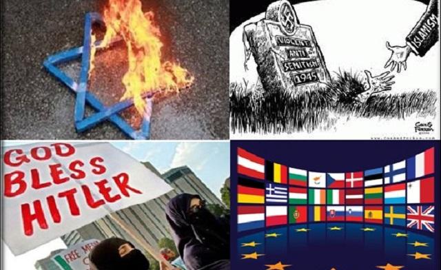 Resultado de imagen para antisemitismo en europa
