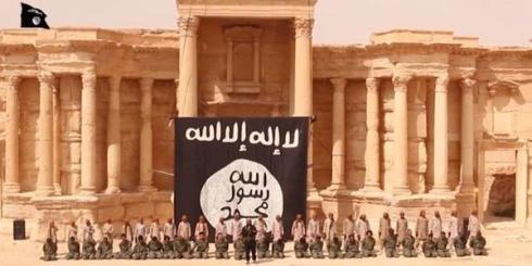 Propaganda ISIS, sulla conquista di Palmira.