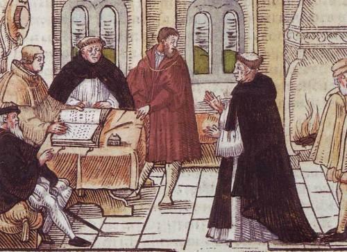 La deposizione del Papa eretico secondo il Gaetano (Tommaso de Vio)