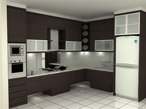 harga kitchen set bahan hpl