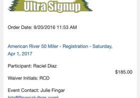 Here we go… My next level of craycray. ^_^ #AmericanRiver50 #ultrarunning #trailrunning #nuunlife [instagram]