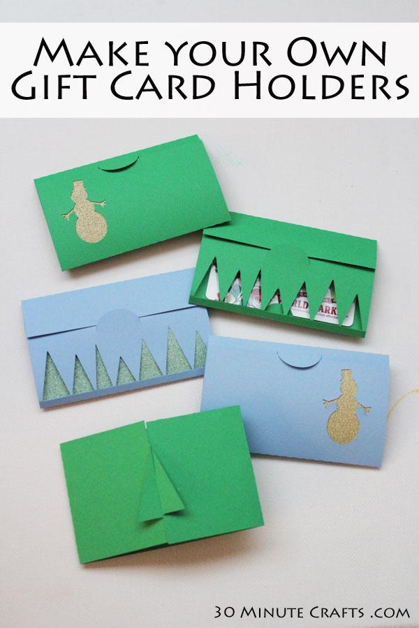 15 DIY Gift Card Holders - Rae Gun Ramblings