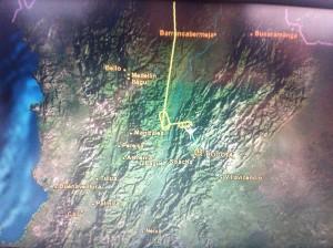 GPS viaje, Barranquilla - Bogota