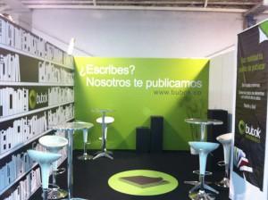 Stand de Bubok en la Feria Internacional del Libro de Bogota
