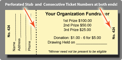 Free Raffle Tickets Template. Free Birthday Templates
