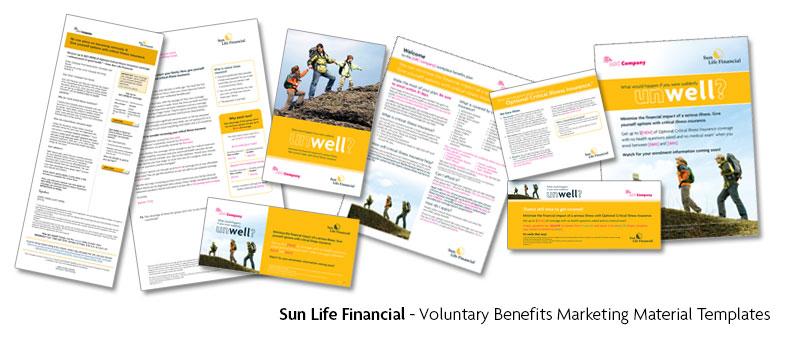 Ralf Wall Graphic Designer Sun Life Financial Portfolio