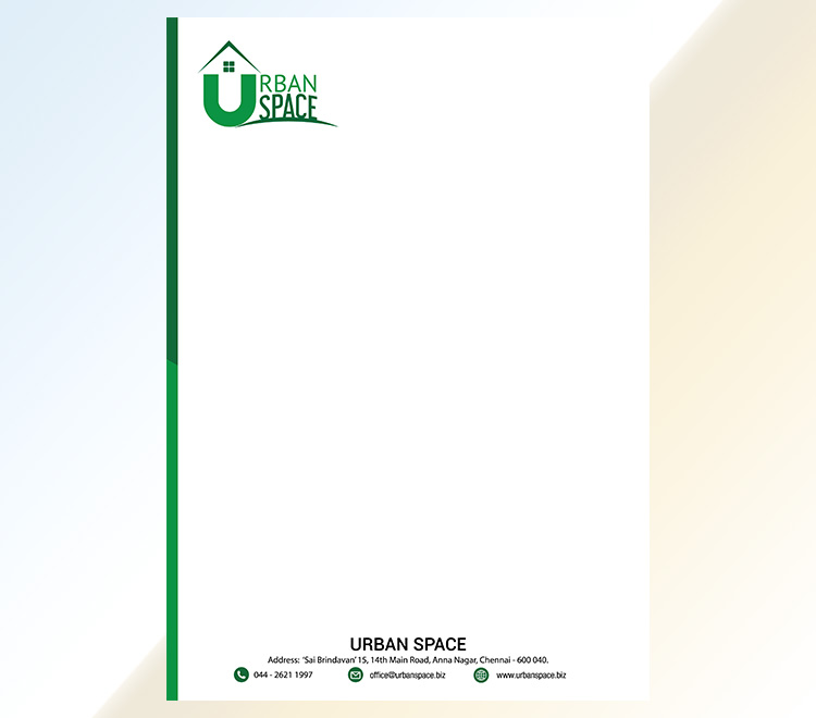 Letterhead Designing and Printing Service in Chennai