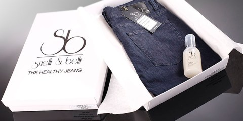 "Jeans ""cosmetici"" made in Italy"
